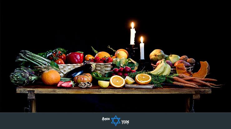Fruits Vegetables Candles
