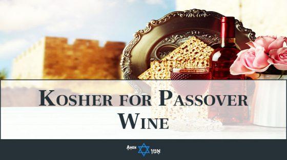 Kosher For Passover Wine