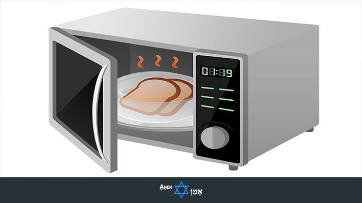 Microwave With Bread