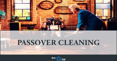Passover Cleaning
