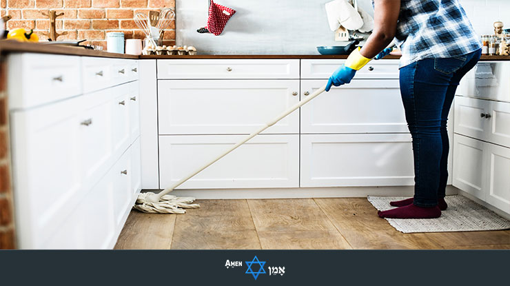 Passover Kitchen Cleaning