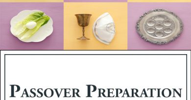 Passover Preparation Checklist