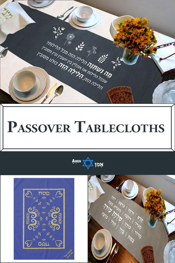 Passover Tablecloths Large