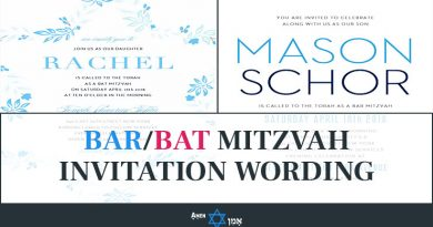Bar Bat Mitzvah Invitation Wording