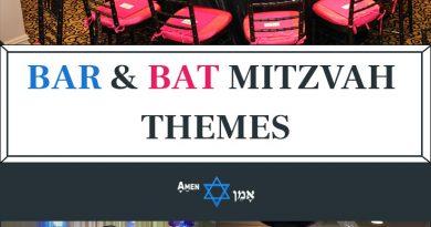 Bar Bat Mitzvah Themes