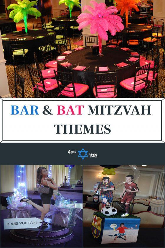 25 Unique Creative Bar Bat Mitzvah Themes Party Ideas 2019