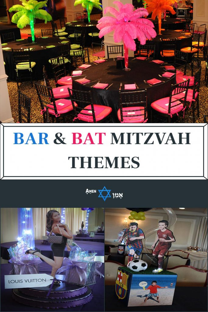 Bar Bat Mitzvah Themes