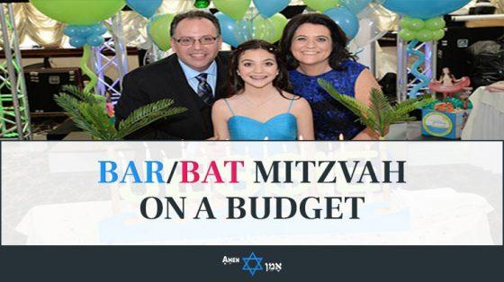 Bar Bat Mitzvah On A Budget