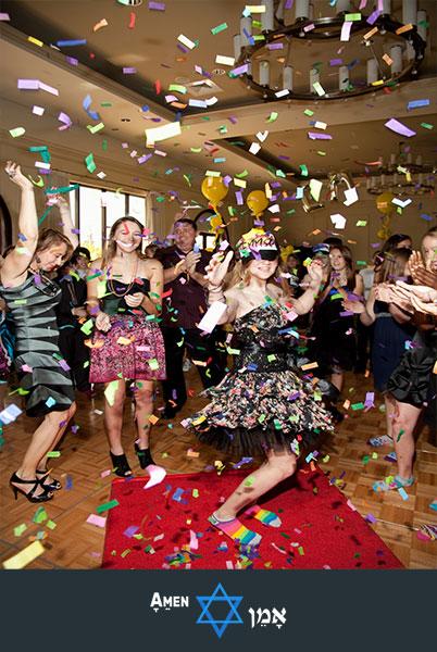 Bat Mitzvah Confetti Party