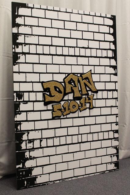 Graffiti Themed Bar Mitzvah
