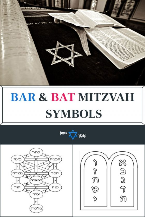 Bar Bat Mitzvah Symbols