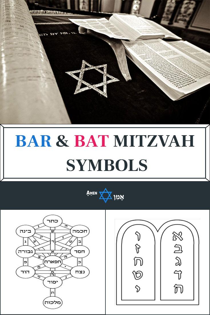 10 Bar Bat Mitzvah Symbols Signs