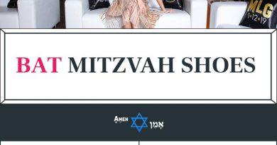 Bat Mitzvah Shoes Large
