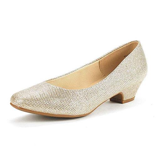 Dream Pairs Mila Low Heel Pump Shoes