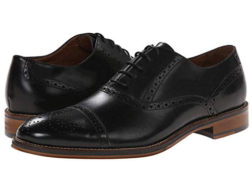 Johnston & Murphy Conard Dress Casual Cap Toe Oxford