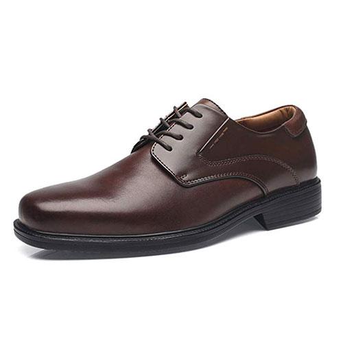 La Milano Leather Slip On Dress Shoes