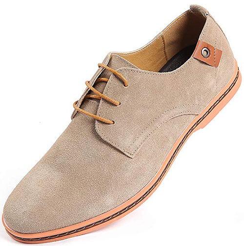 Marino Suede Oxford Dress Shoes