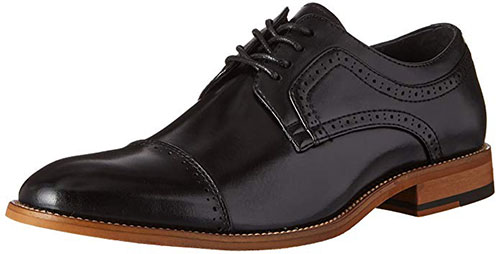 Stacy Adams Dickinson Oxford Shoes Cap Toe