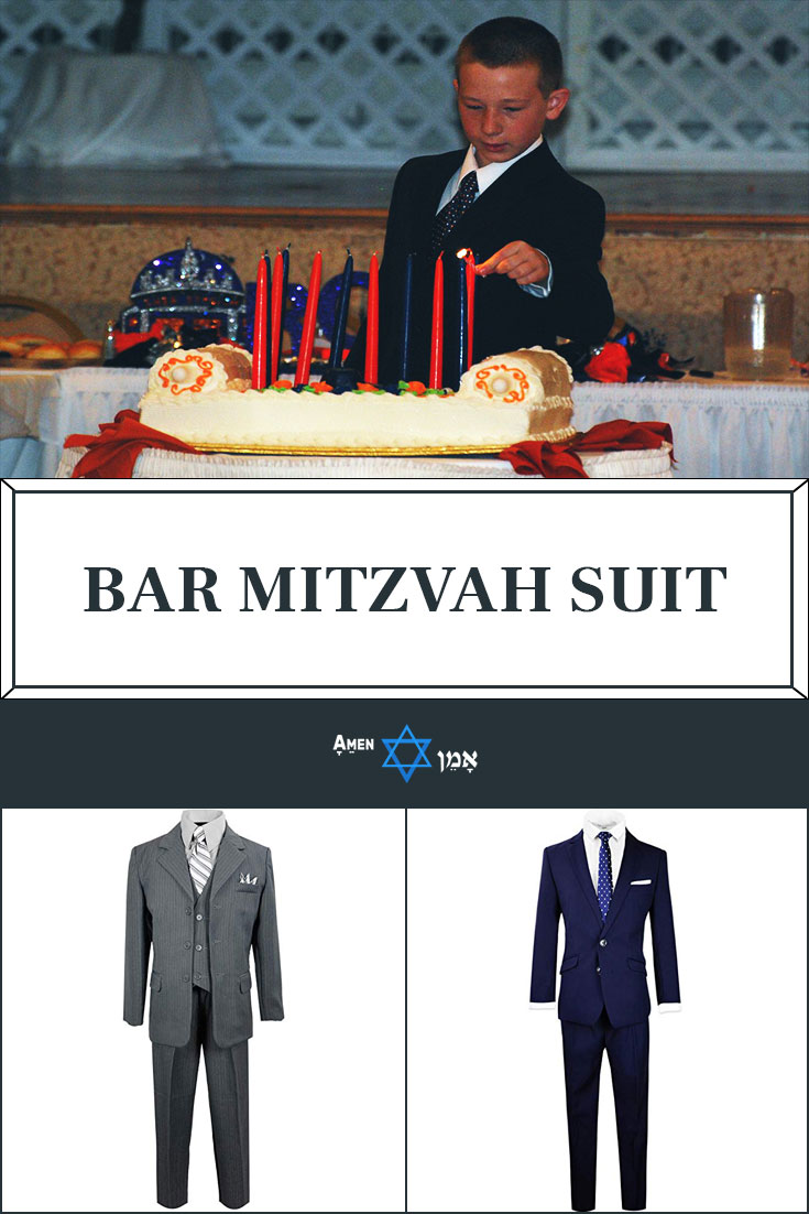 Bar Mitzvah Suit Large
