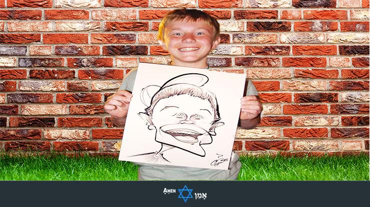Caricaturist Bar Mitzvah