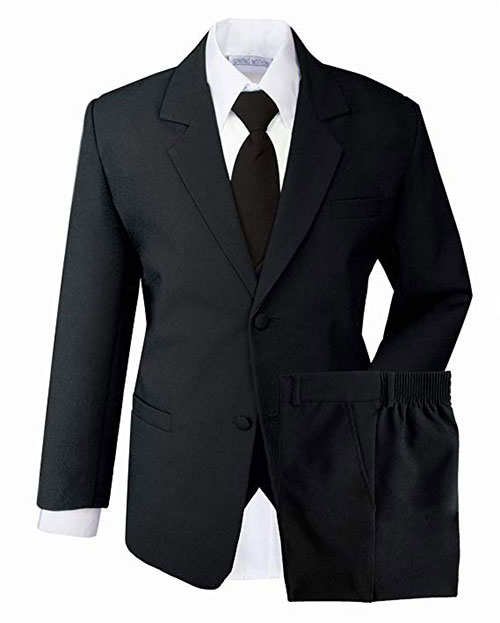 Spring Notion Boys' Classic Fit Formal Dress Suit Set