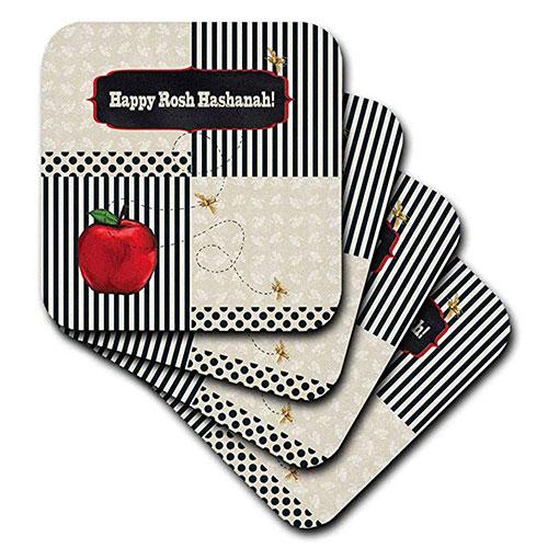 Rosh Hashanah Coasters Set