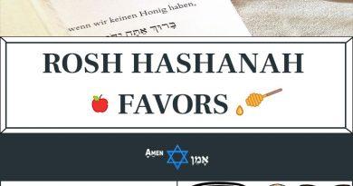Rosh Hashanah Favors