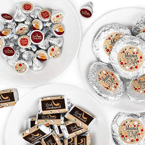 Rosh Hashanah Mini Candy Bar Wrappers Kit