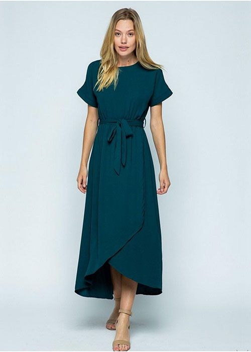 Endless Love Chiffon Maxi Dress