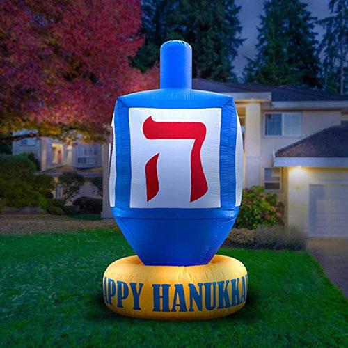 Giant Inflatable Hanukkah Dreidel
