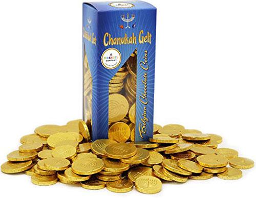 Hanukkah Chocolate Gelt Belgian Chocolate Nut Free