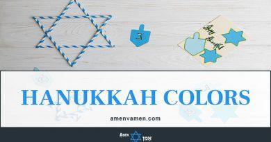 Hanukkah Colors