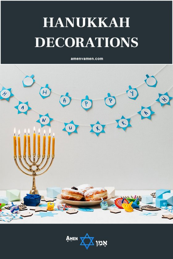 40 Elegant Hanukkah Decoration Ideas Ornaments Party