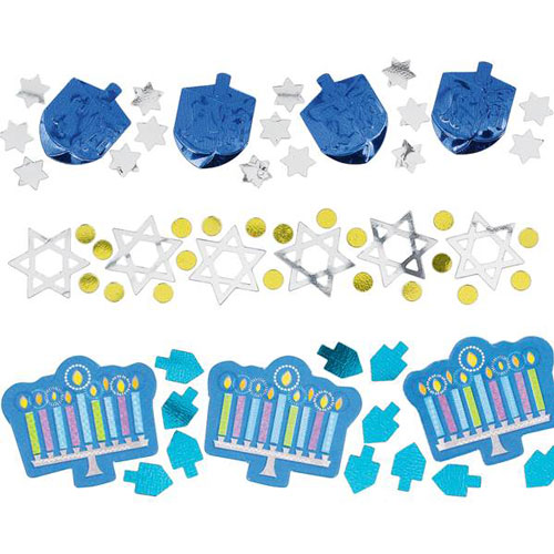 Hanukkah Icons Confetti