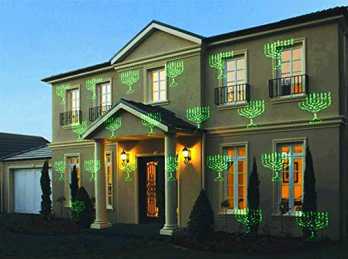 Hanukkah Laser Lights Outdoor Decoration