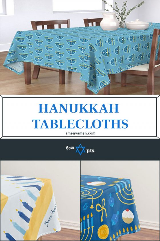 Hanukkah Tablecloths