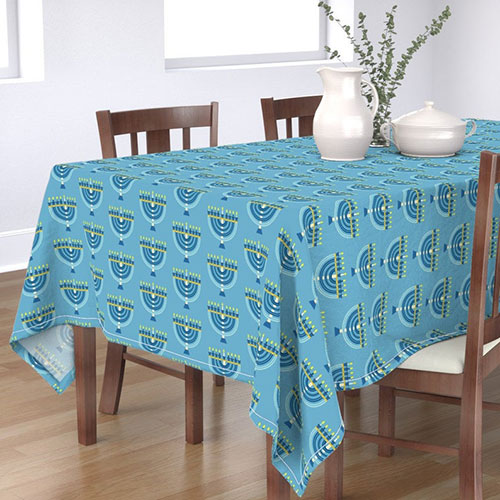 Menorah Tablecloth