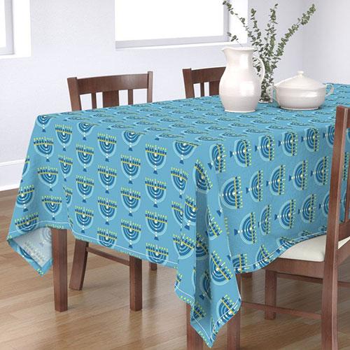 Menorah Tablecloth