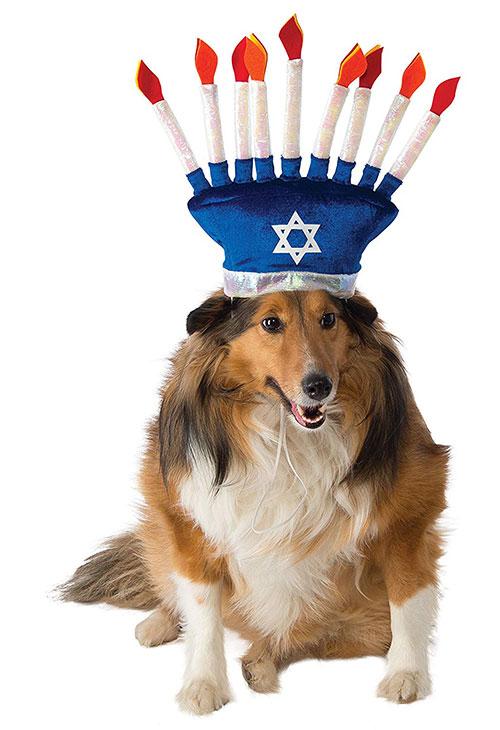 Hanukkah Menorah Hat