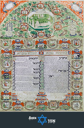 Decorated Ketubah