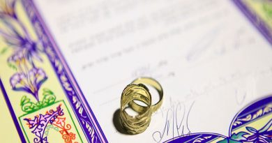 Ketubah Jewish Marriage Contract Large