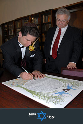Ketubah Signing