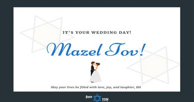 Jewish Wedding Wishes