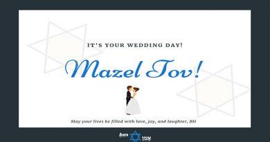 Jewish Wedding Wishes